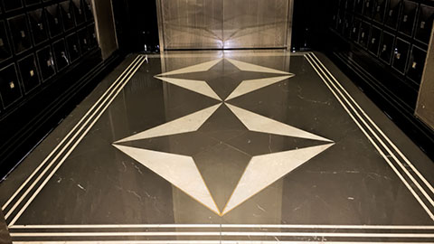 Polished Marble Floor