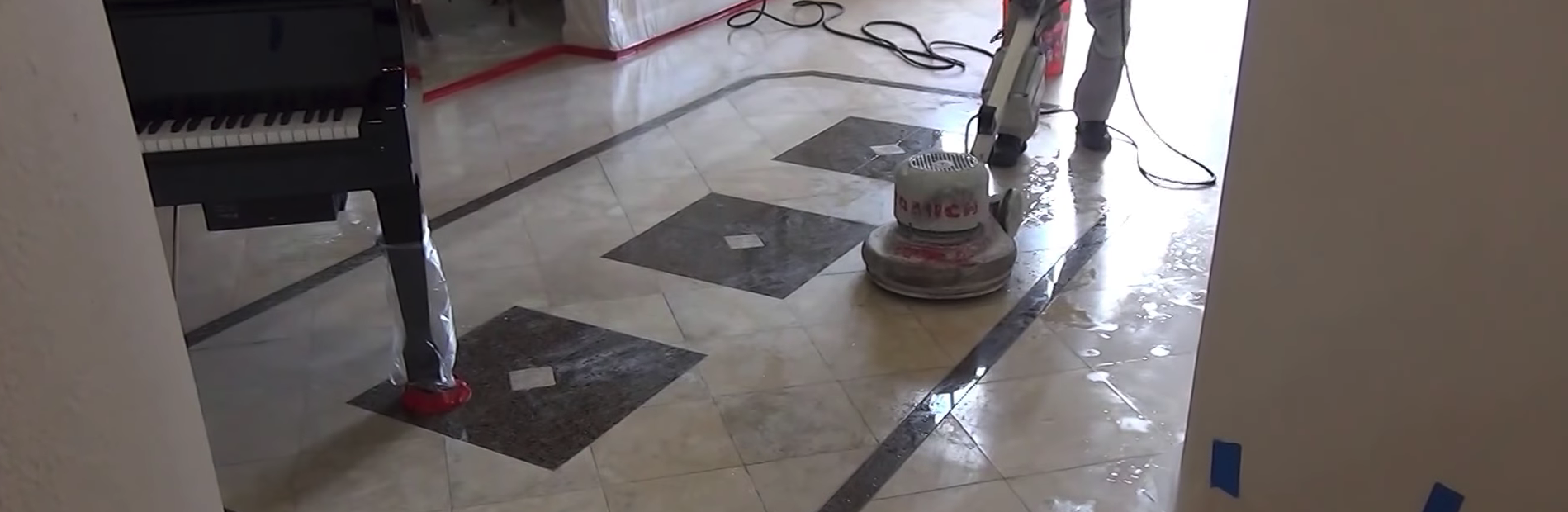photo of marble restoration